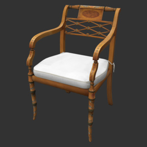 ScullyWoodChair